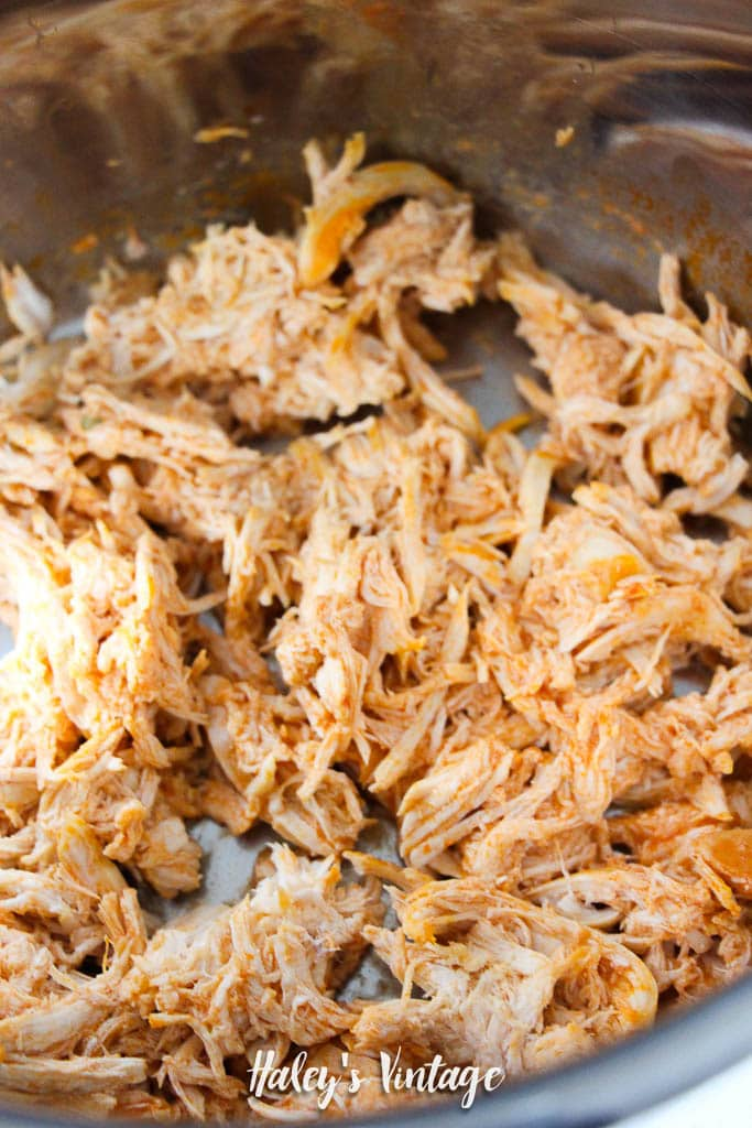 Buffalo Chicken Dip in Instant Pot