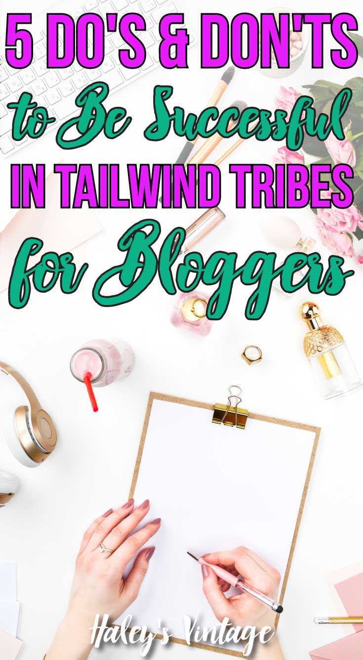 Tailwind Tribes for Bloggers are an excellent way to get traffic on your blog posts. But they have to be used correctly! Let me share with you how to... #Tailwind #Blogging #Tailwindtribes