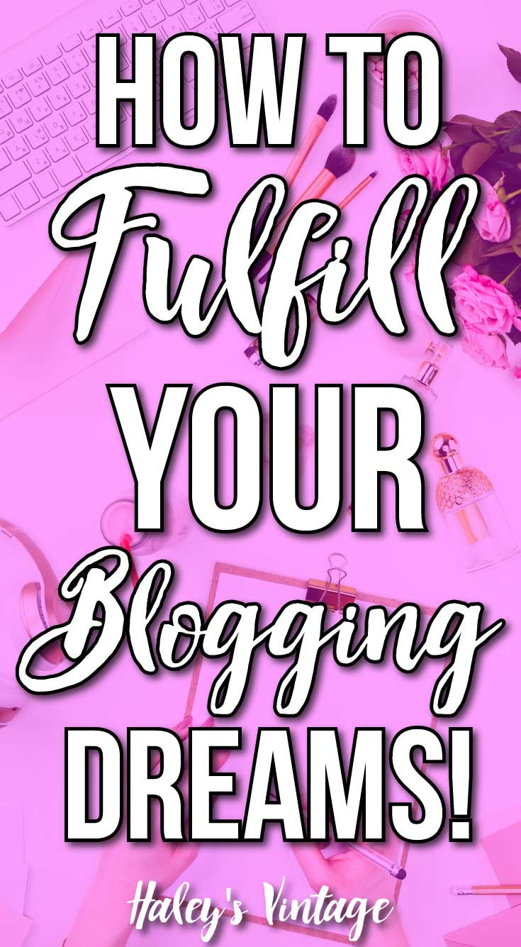 You've got big plans and goals for your blog. And with good reason! But how can you achieve your blogging dreams? Let me show you something that helps me! #blogging #bloggersbelike #bloggerlife